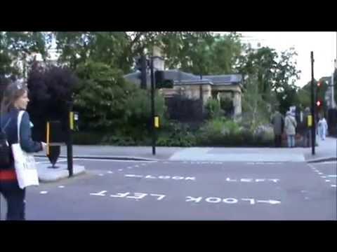 zebra crossing in London