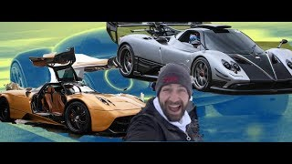 Flying A Pagani Zonda From Dubai To Italy - First Class! S - Supercar # 1 #supercar #MrJWW