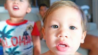 Our Asian Kids Have Colored Eyes!