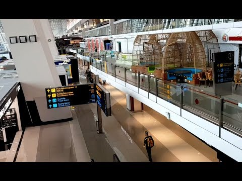 Foto travel bandung airport soekarno hatta