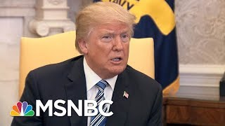How President Donald Trump's Tweets Changed His Tariff Proposal | Velshie & Ruhle | MSNBC