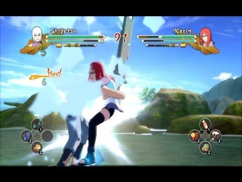 (XBOX 360) Suigetsu vs Karin Naruto Ultimate Ninja Storm 3