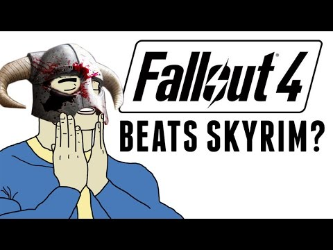 Fallout 4 BEATS Skyrim? - The Know