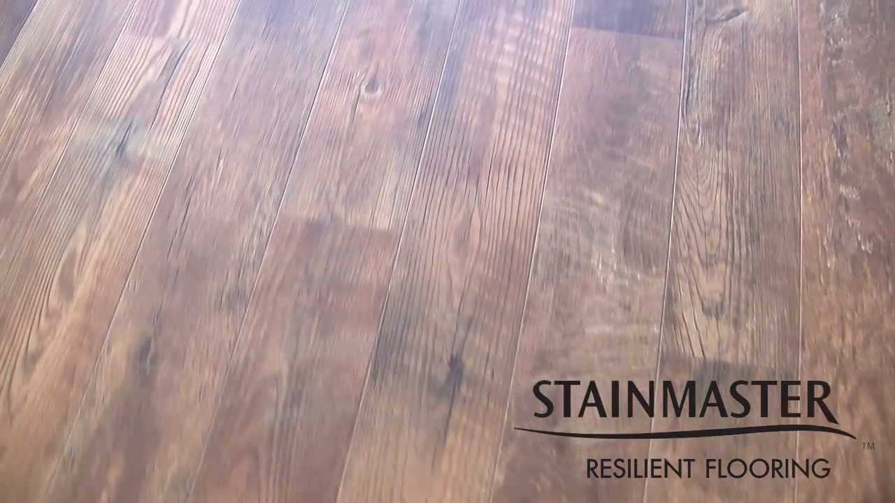 Stainmaster Resilient Flooring Youtube
