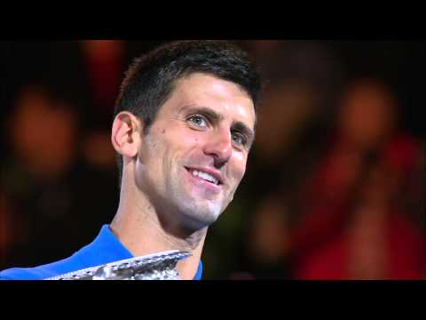 Novak Djokovic winner's speech - Australian Open 2015