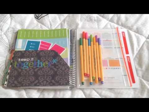 Erin Condren 2014 Life Planner Review
