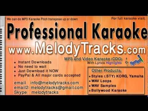 Yeh dil ye pagal Ghulam ali KarAoke - www.MelodyTracks.com