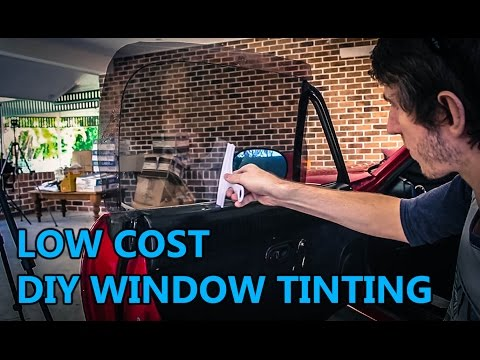$25 DIY Tinting - The Racing Seat