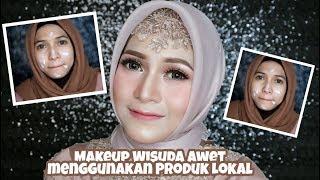 Download video Makeup Wisuda Awet pakai Produk Lokal Murah Banget & Tutorial Hijabnya