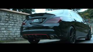 Benz CLA250 w/ ARMYTRIX Variable Cat-back Exhaust by Foda Motorsports