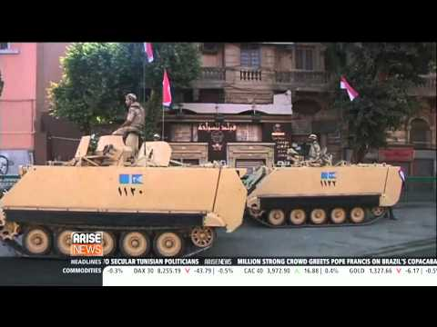 Egypt : Tension rise as Morsi is charged with Murder, Conspiracy and Espionage (Jul 26, 2013)