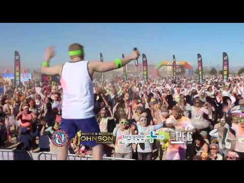 Color Me Rad 5K - Lancaster, CA
