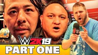 I Got Roasted By Shinsuke Nakamura at WWE 2K19 Gameplay Event | Samoa Joe Invents New Game Mode