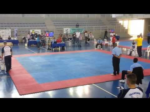 Diogo Silva X Breno - Grand Slam 2014, Seletiva Nacional De Taekwondo video