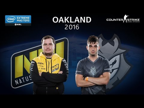 CS:GO - Natus Vincere vs. G2 Esports [Mirage] - Group A - IEM Oakland 2016