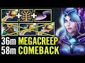 MEGA CREEPS COMEBACK - too much Divine for one Game |Meracle Dota 2