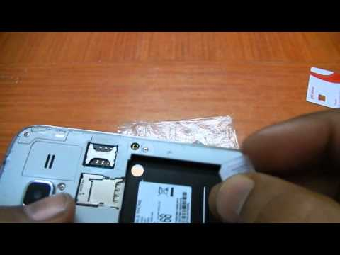 Samsung Galaxy Core Prime How to Insert Sim Card and SD card