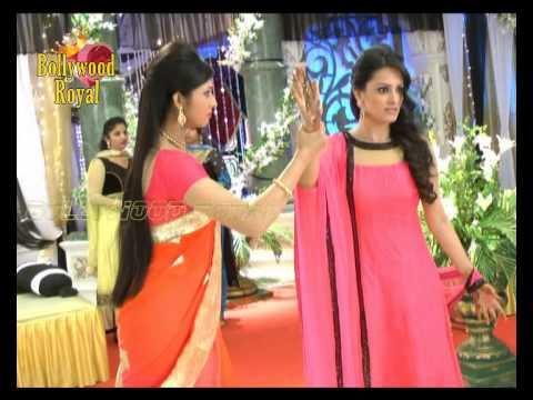 On Location Of Tv Serial ''yeh Hai Mohabbatein'' Shagun's Mehandi Ceremony Part 2 video