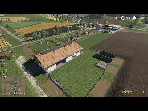 LS19 Felsbrunn No.13: Finale Vorbereitungen Landschaftsbau - Kuhweide - LANDWIRTSCHAFTS SIMULATOR 19