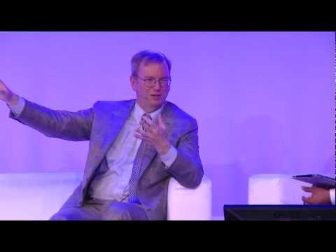 Eric Schmidt in conversation at the UK Big Tent
