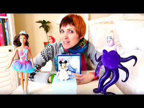 Видео для девочек. Куклы и коробочка потерянных вещей