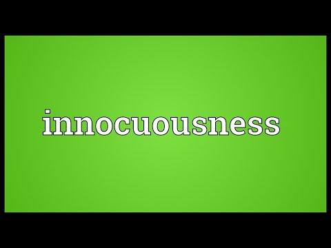 Header of innocuousness