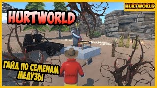 Hurtworld Гайд по СЕМЕНАМ МЕДУЗЫ
