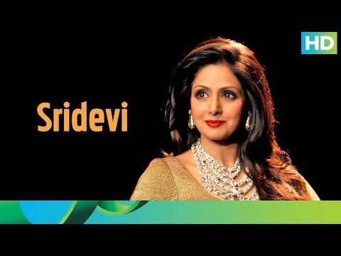 "Remembering India's first female superstar ""Sridevi"""