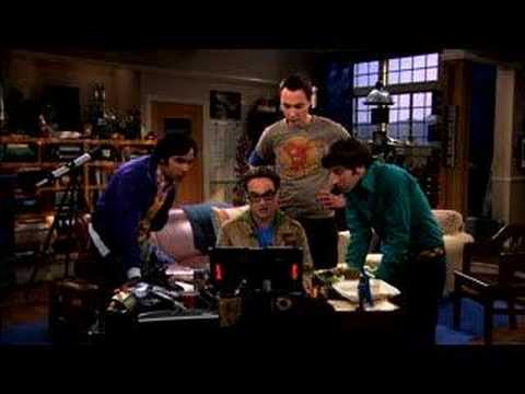 The Big Bang Theory - A Time-Share Time Machine