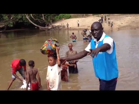 Cameroon: River Crossing From Central African Republic