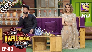 Kapil's Questionnaire to Shahid And Kangana  – The Kapil Sharma Show - 19th Feb 2017