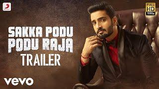 Sakka Podu Podu Raja Official Tamil Trailer 2 | Santhanam, Vaibhavi | STR