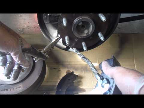 2005 Chevy Silverado Single Spring Rear Brakes (Brake Shoes Drum and Wheel Cylinder Replacement)