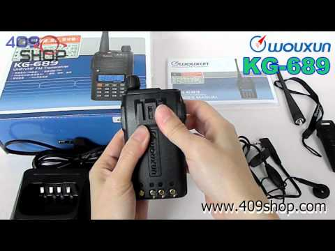 WOUXUN KG-689 plus UHF w/ Scrambler / ANI /FM Radio