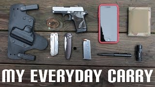 My Every Day Carry (EDC) + Concealed Carry