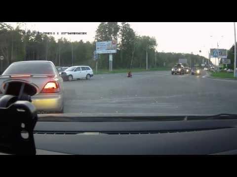 03.09.2013. ДТП. Новосибирск, въезд в Академгородок.