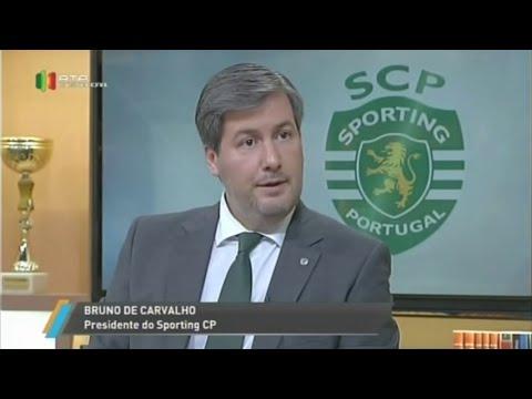 Entrevista Bruno de Carvalho - RTP Internacional / África / Ásia / América (19/10/2015)