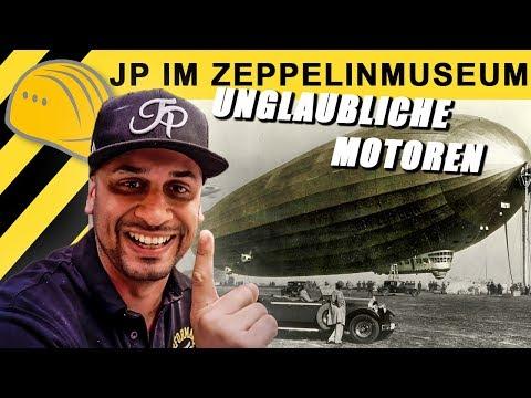 JP Performance im Zeppelin Museum | JP zeigt Geschichte, Fakten & Technik der Luftschiffe