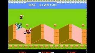 NES Longplay [098] Excite Bike