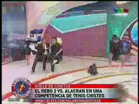 Rebo 2 vs Alacrán #TenisDeChiste