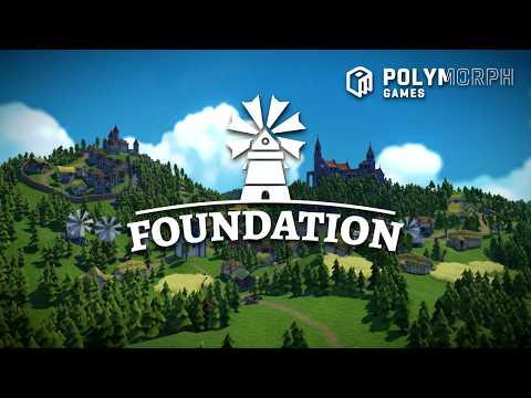 Foundation : A New Era of Organic City Building Simulation Games! Kickstarter Trailer 2018