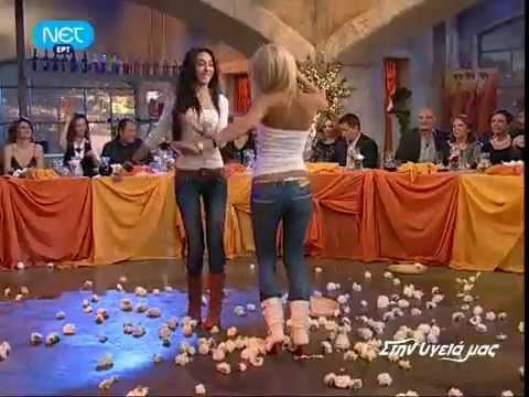 Greek Music - Sexy Greek Girls dancing Tsifteteli - Greek women - Cifteteli !!!!