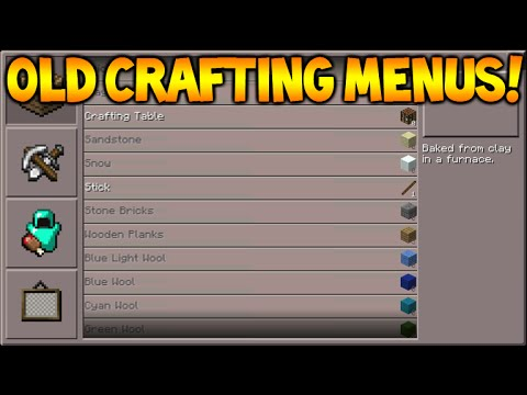 FIRST CRAFTING MENUS! Minecraft Pocket Edition 0.4.0 FIRST Ever Creative Update