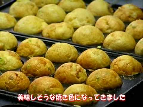 たこ焼き たこ吉 [ Making of The TAKOYAKI ]