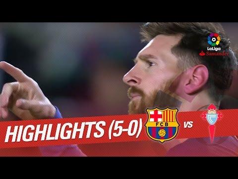 Resumen de FC Barcelona vs Celta de Vigo (5-0)