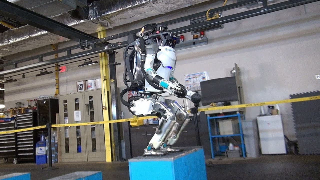 Watch This HumanLike Robot Do A Backflip With Ease