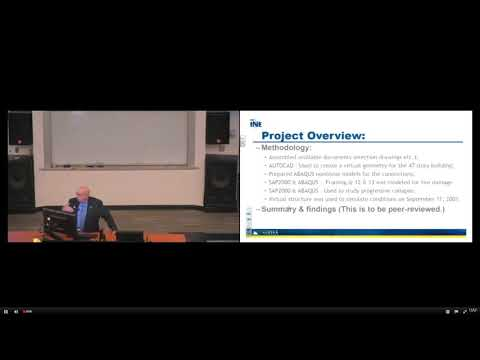 WTC7 Evaluation Presentation by Dr. Leroy Hulsey's at UAF Sep 6th 2017