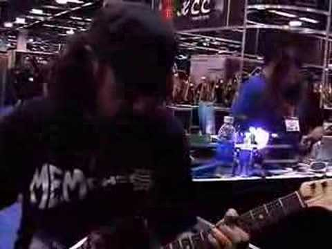 Bruce Kulick check out Kulik Amps at Namm 2008