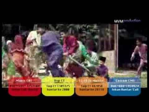Ainan Tasneem - Bersama Di Hari Raya (official Mv Karaoke Kiri kanan) video