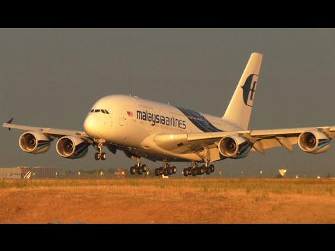 **GOODBYE** MALAYSIA AIRLINES IN PARIS CDG